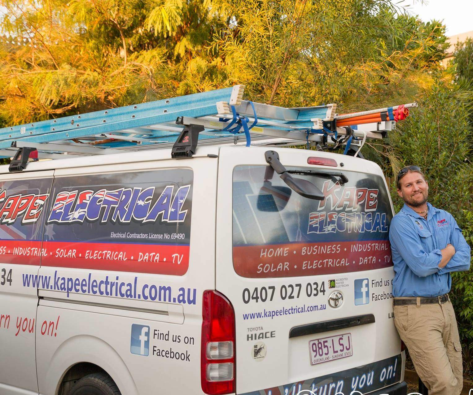 Kape Electrical Sunshine Coast Electrician Buderim Electrician Nambour Electrician Kiels Mountain Electrician Solar Data TV AirCon Installer Sunshine Coast Solar